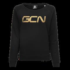 GCN Womens Organic Sweatshirt - Black & Gold