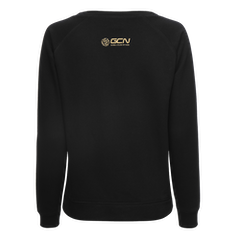 GCN Women's Organic Sweatshirt - Black & Gold