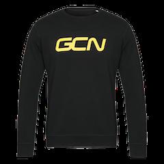 GCN Organic Sweatshirt - Black & Yellow