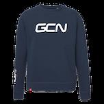 GCN Organic Sweatshirt - Navy Blue & White
