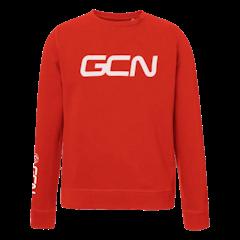 GCN Organic Sweatshirt - Red & White