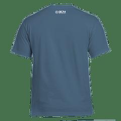 GCN Classic T-Shirt - Indigo Blue & White
