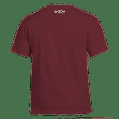 GCN Classic T-Shirt - Maroon & White