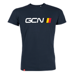 GCN Belgium T-Shirt - Navy Blue