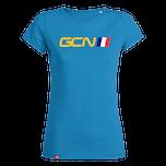 GCN France Womens T-Shirt - Azure Blue