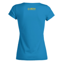 GCN France Women's T-Shirt - Azure Blue