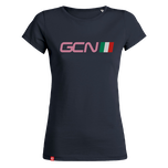 GCN Italy Womens T-Shirt - Navy Blue