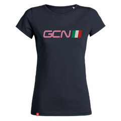 GCN Italy Womens T-Shirt - Navy Blue