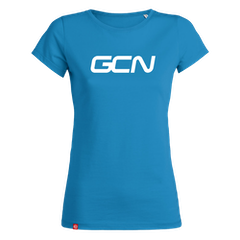 GCN Womens Organic T-Shirt - Azure Blue