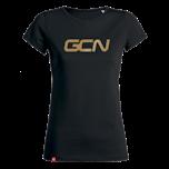 GCN Womens Organic T-Shirt - Black & Gold