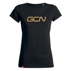 GCN Womens Organic T-Shirt - Black & Gold