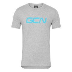 GCN Organic T-Shirt - Grey & Sky Blue