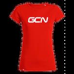 GCN Womens Organic T-Shirt - Red & White