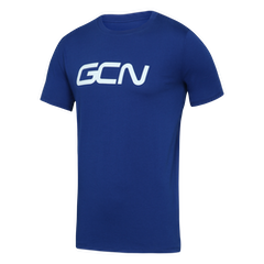 GCN Organic T-Shirt - Royal Blue & White