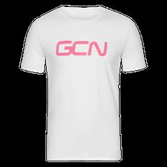 GCN Organic T-Shirt - White & Pink
