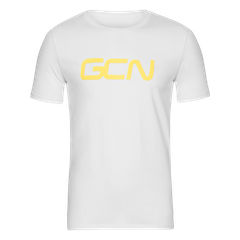 GCN Organic T-Shirt - White & Yellow