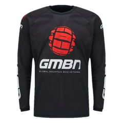 GMBN Team Jersey Long Sleeve - Black & Red