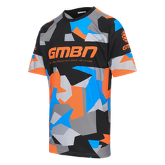 GMBN Camo Team Jersey - Orange & Blue
