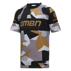GMBN Camo Team Jersey - Black & Gold