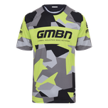 GMBN Camo Team Jersey - Green & Grey