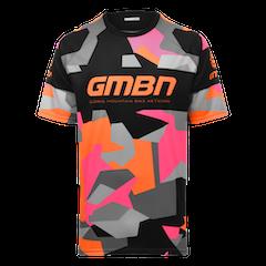 GMBN Camo Team Jersey - Orange & Pink