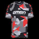 GMBN Camo Team Jersey - Black & Red