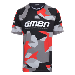 GMBN Camo Team Jersey - Black & Red