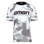 GMBN Camo Team Jersey - White & Grey