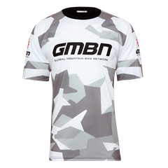 GMBN Camo Team Jersey - White & Grey