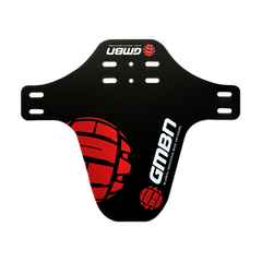 GMBN Front Mudguard - Black & Red