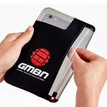 GMBN Classic Phone Case Large - Black