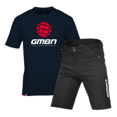 GMBN Navy Blue T-Shirt and Shorts Bundle