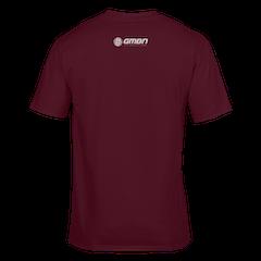 GMBN Classic T-Shirt - Maroon & Grey