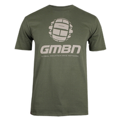 GMBN Classic T-Shirt - Military Green & Grey