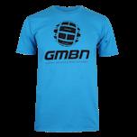 GMBN Classic T-Shirt - Sapphire Blue & Black