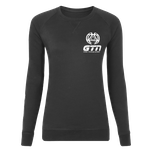 GTN Womens Classic Organic Sweatshirt - Black