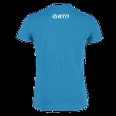 GTN Organic T-Shirt - Azure Blue
