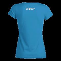 GTN Women's Organic T-Shirt - Azure Blue