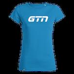 GTN Womens Organic T-Shirt - Azure Blue