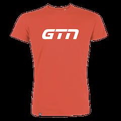 GTN Organic T-Shirt - Hot Coral