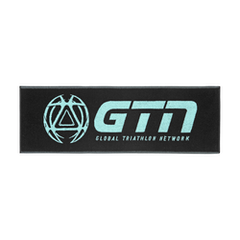 GTN Premium Towel Small - Black & Turquoise