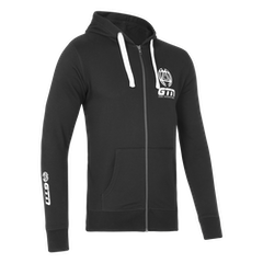GTN Classic Organic Zip Hoodie - Black