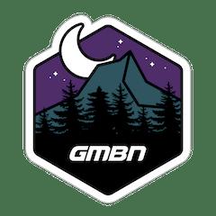 GMBN Stargazer Mountain Sticker