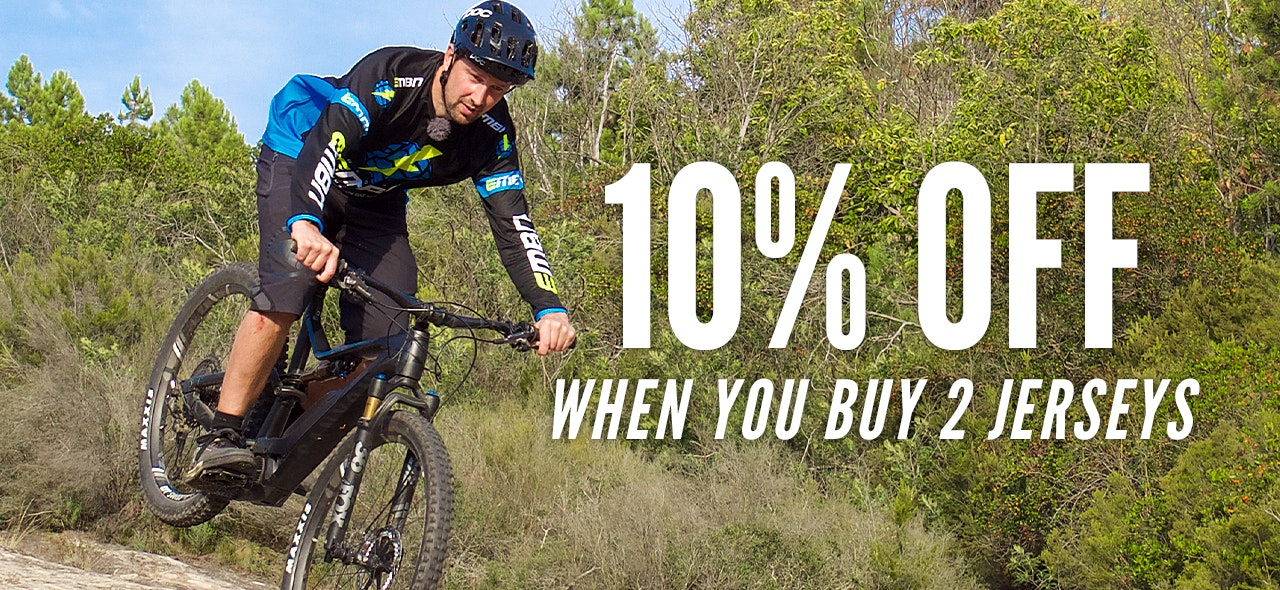 save 10% when you buy 2 jerseys