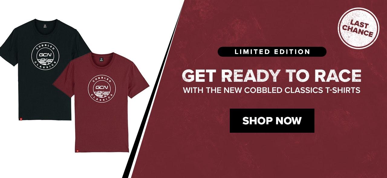 cobbled classics t-shirts