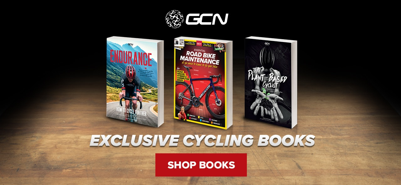 GCN Cycling Books